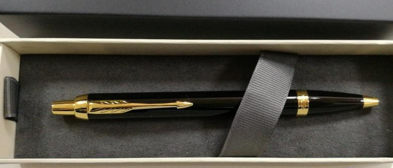 Шариковая ручка, Parker IM Core - Black GT