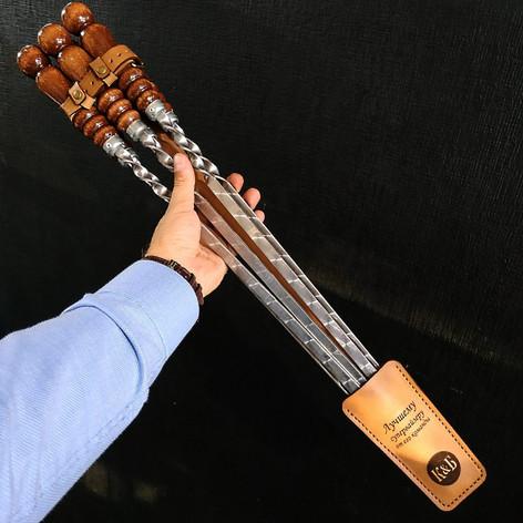 Чехол для шампуров с гравировкой