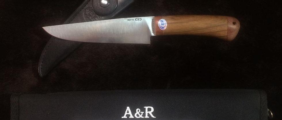 """Нож """"Барибал"""" АИР, 95Х18, дерево"""