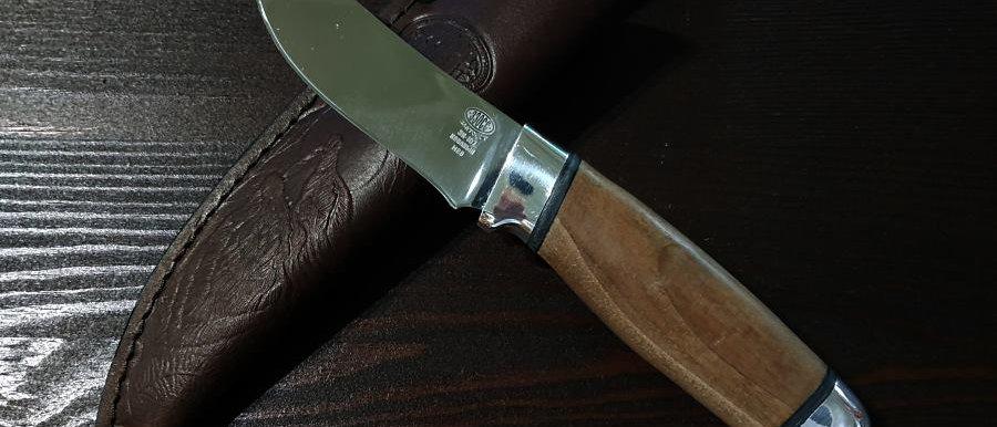 Нож Н-88 (ст. ЭИ-107) рукоять орех, алюминий