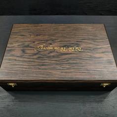 Подарочный набор, нож с ремнём в коробке