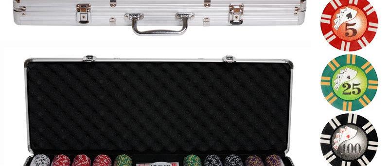 Набор для покера 500 фишек