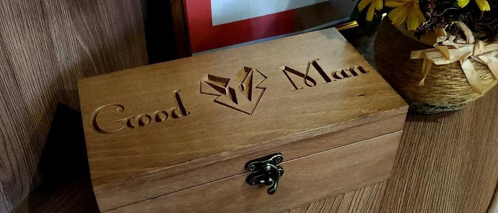 Купюрница Good Man (ценные породы дерева: бук)