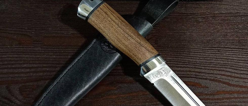 """Нож """"Бекас"""" (ст.95Х18), орех, АиР"""