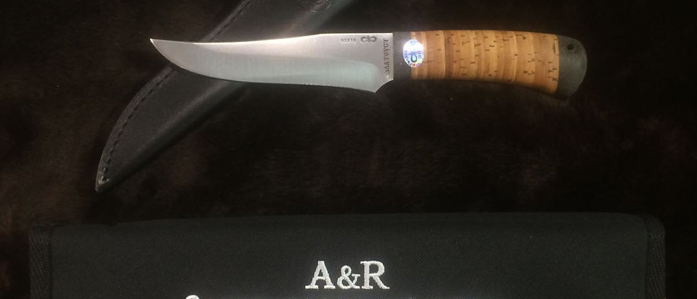 "Нож ""Восток"" АИР, 95Х18, береста"