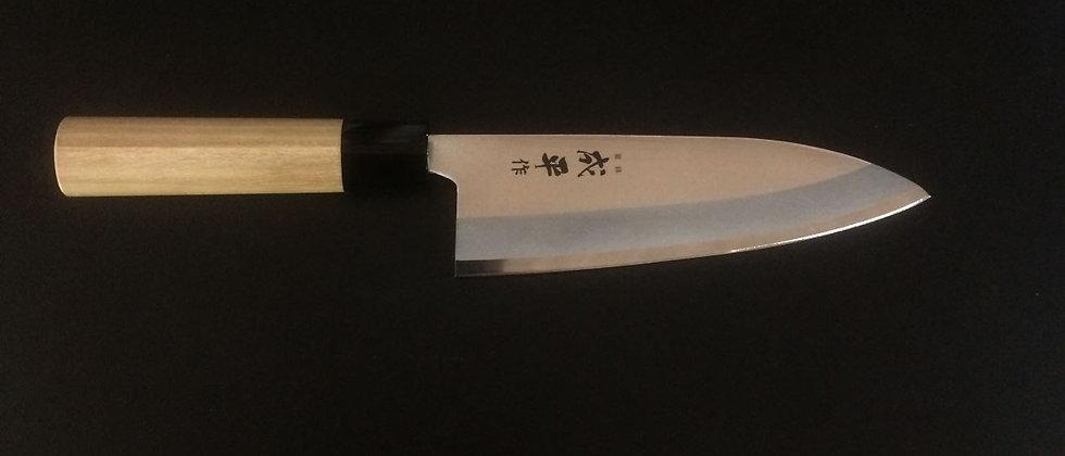 Японский кухонный нож FC-79 Молибден-ванадиевая сталь (1 мм)