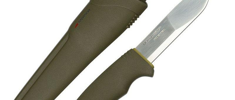 Нож MORAKNIV BUSHCRAFT (углеродистая сталь)