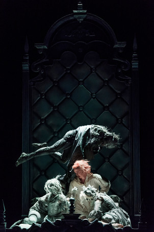 Dracula, Royal Opera House Stockholm, 2017. Photo: Carl Thorborg