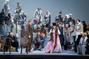 Eugene Onegin, Royal Opera House Stockholm, 2019. Photo: Sören Vilks