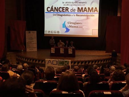 Éxito de asistencia en la conferencia organizada por AOEX y CirugiasdelaMama.com