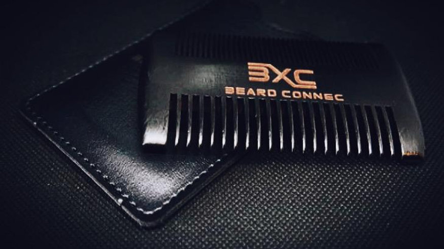 Beard Comb and Leather Case