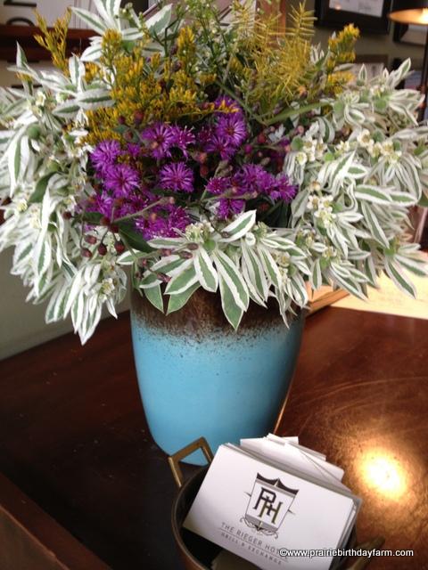wildflowers, vintage vessel
