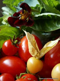 fruit, herbs, flower