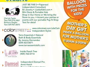 Outdoor Vendor Event with Freebies for Kids & Seniors