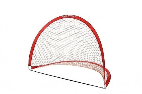 PowerNet 6x4 ft Round Portable Pop Up Soccer Goal (2 Goals + 2 Bags)