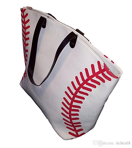Large Baseball Purse