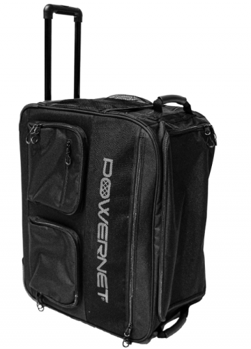 PowerNet Rolling Baseball Coaches Bag Caddy