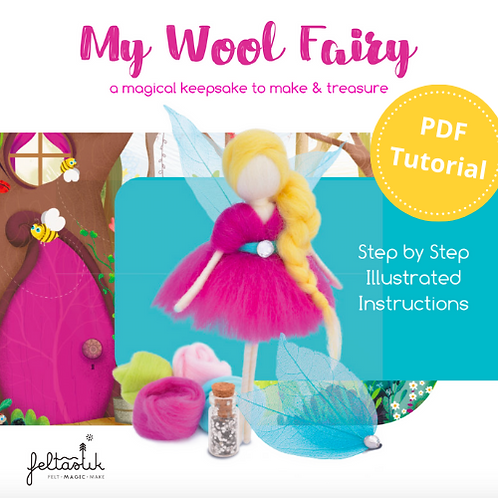 My Wool Fairy PDF Tutorial - Download