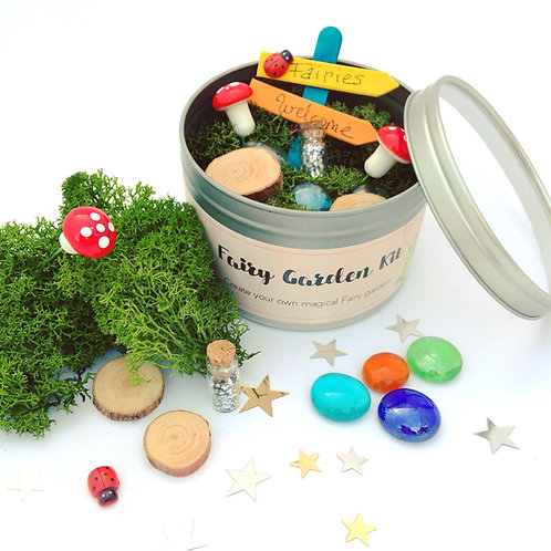 Mini Fairy Garden Kit