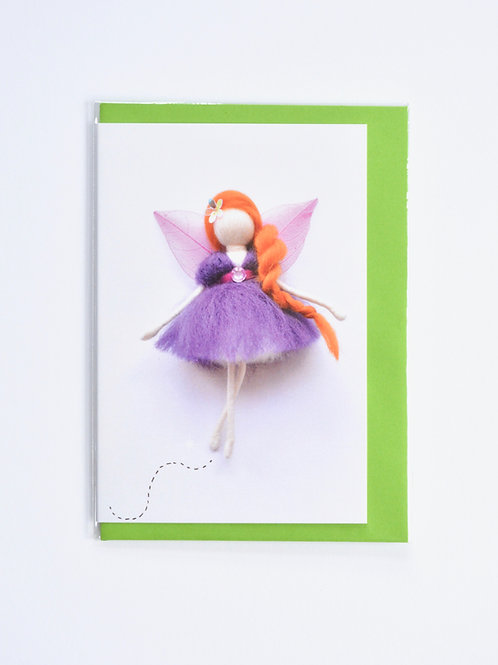 My Wool Fairy Greeting card - A6