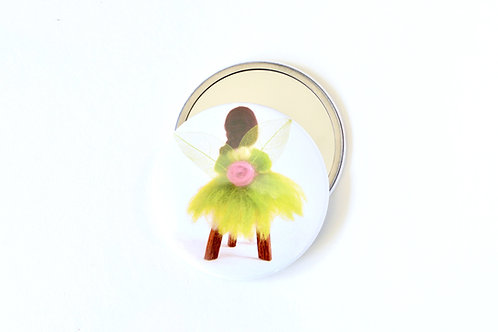 My Wool Fairy Pocket Mirror