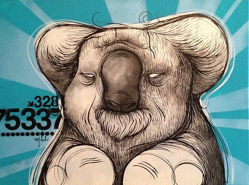 Painting - Koala