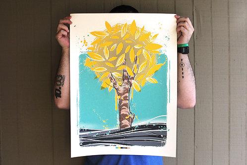 Screen print - Araguaney