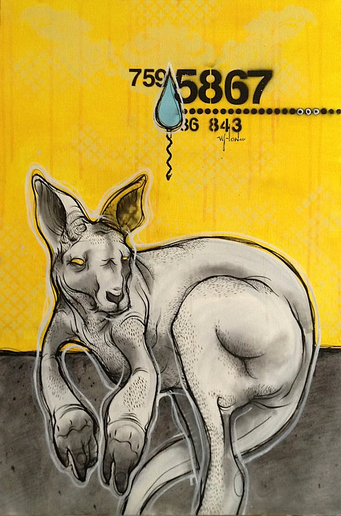 Painting - Kangaroo