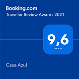 traveller booking award 2021 casa azul.p