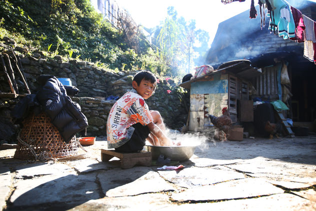 DAILY FOOTBATH Ulleri (Poon Hill trek)