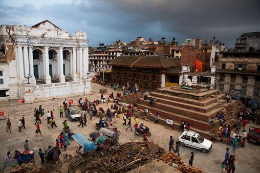 SAME PLACE, DIFFERENT VIEW Kathmandu, Basanthapur Square
