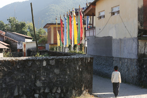 BACK HOME AFTER THE CEREMONY Tashipalkiel Tibetan Refugee settlement