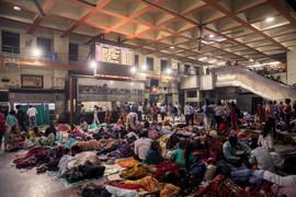 Varanasi Train Station, UP, INDIA