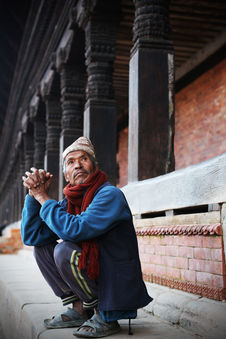 THE MAN WHO STARES AT THE TEMPLES Bhaktapur