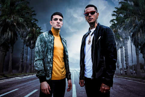 Giacomo Ferrara (Actor) and Emis Killa (Italian Rapper)