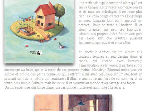 """Chronique de la Mare aux mots à propos de """"Le pêcheur d'idées"""""""
