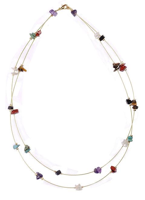 Handmade Necklace 'Precious Stones'