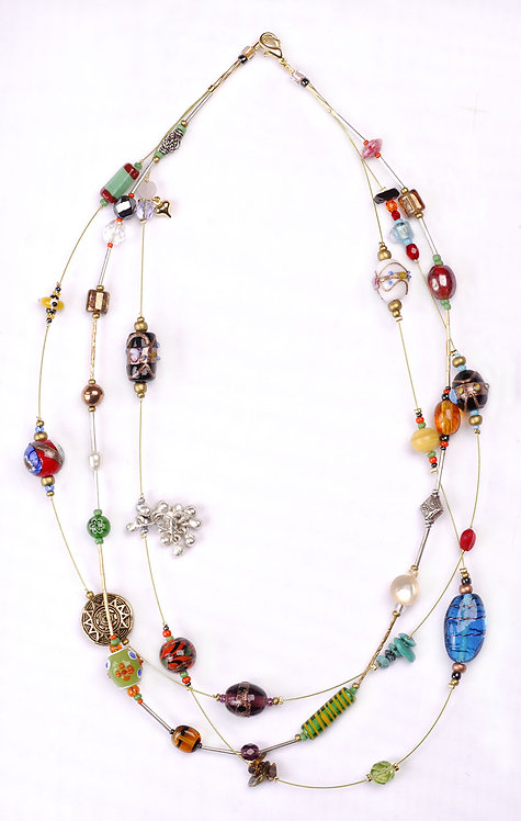 Handmade Necklace 'Gypsy'