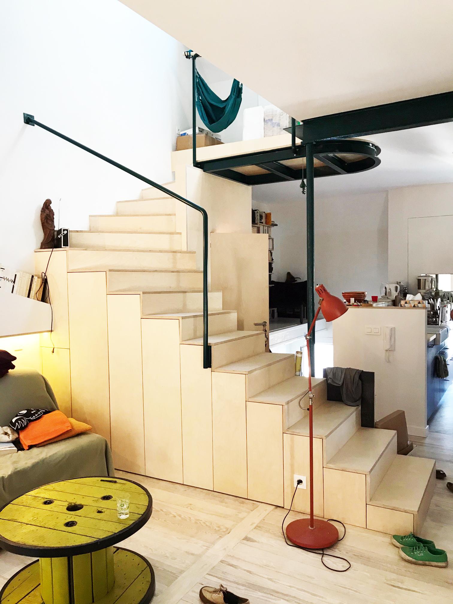 Meuble - escalier