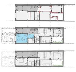 Plans du deuxième étage