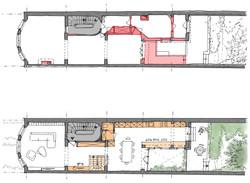 Plans du premier étage
