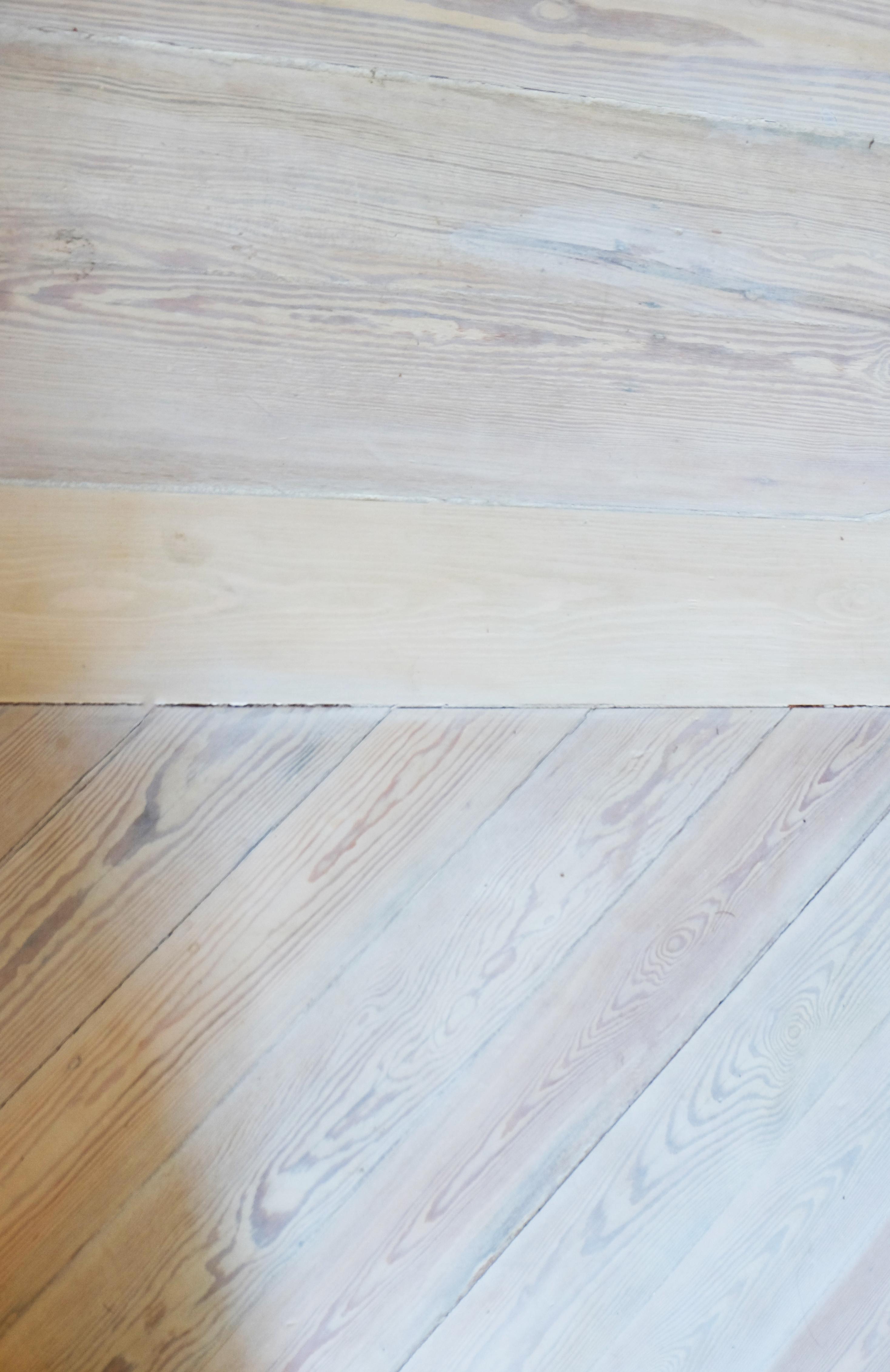 Plancher récupéré - détail
