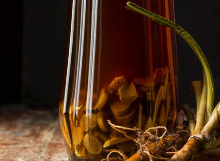 Spooky Herbal Drinks