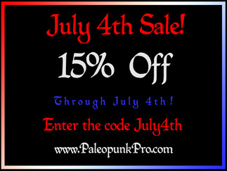 Don't Miss Our July 4th Sale!