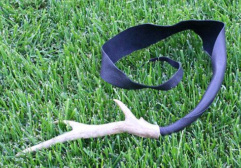 Deerskin & Antler Dragon Tail
