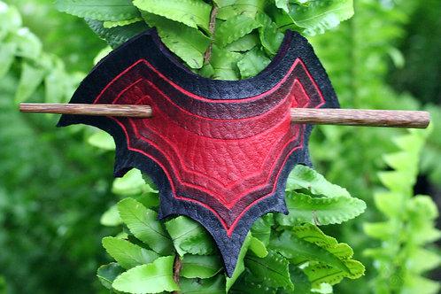 'Bat's Crown' Hair Clasp