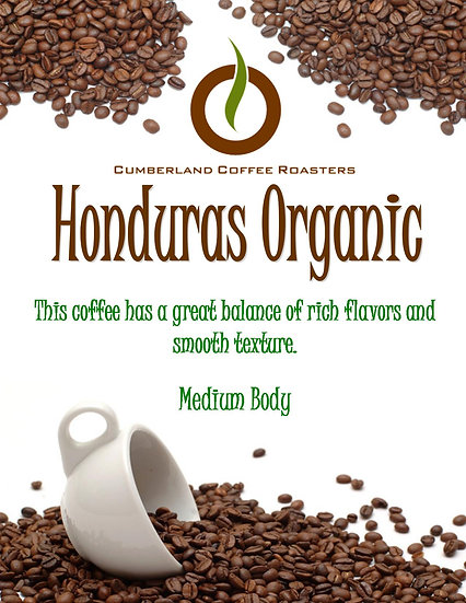 Honduras Organic Subscription