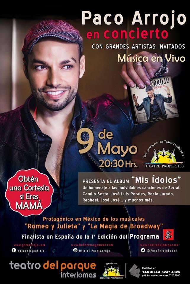 Paco Arrojo en concierto