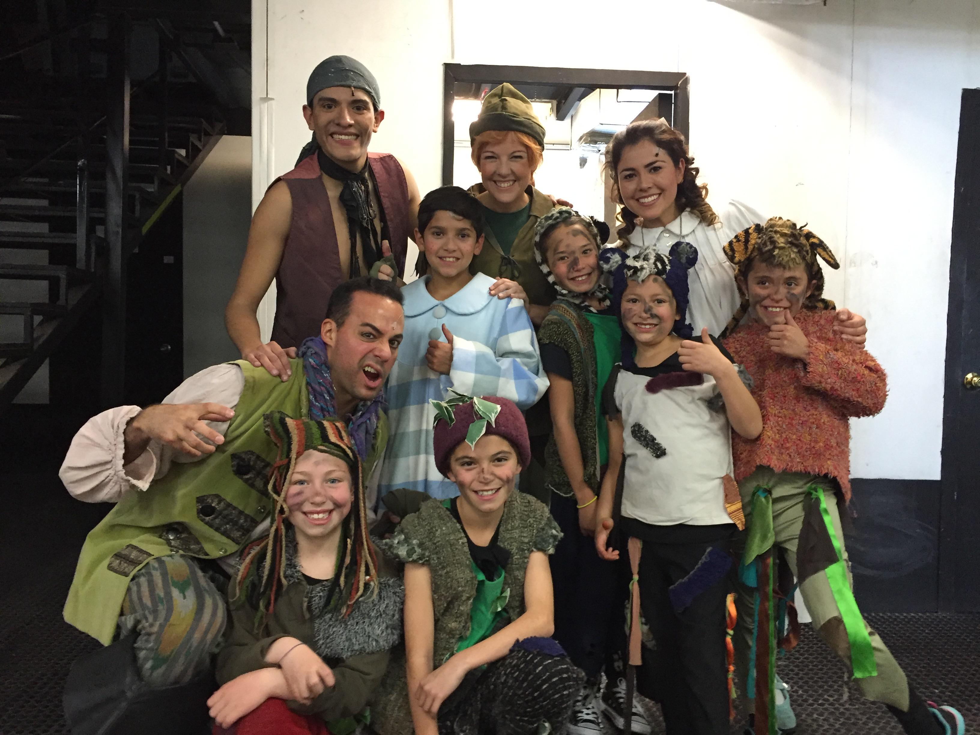 Nuestros Alumnos en Peter Pan