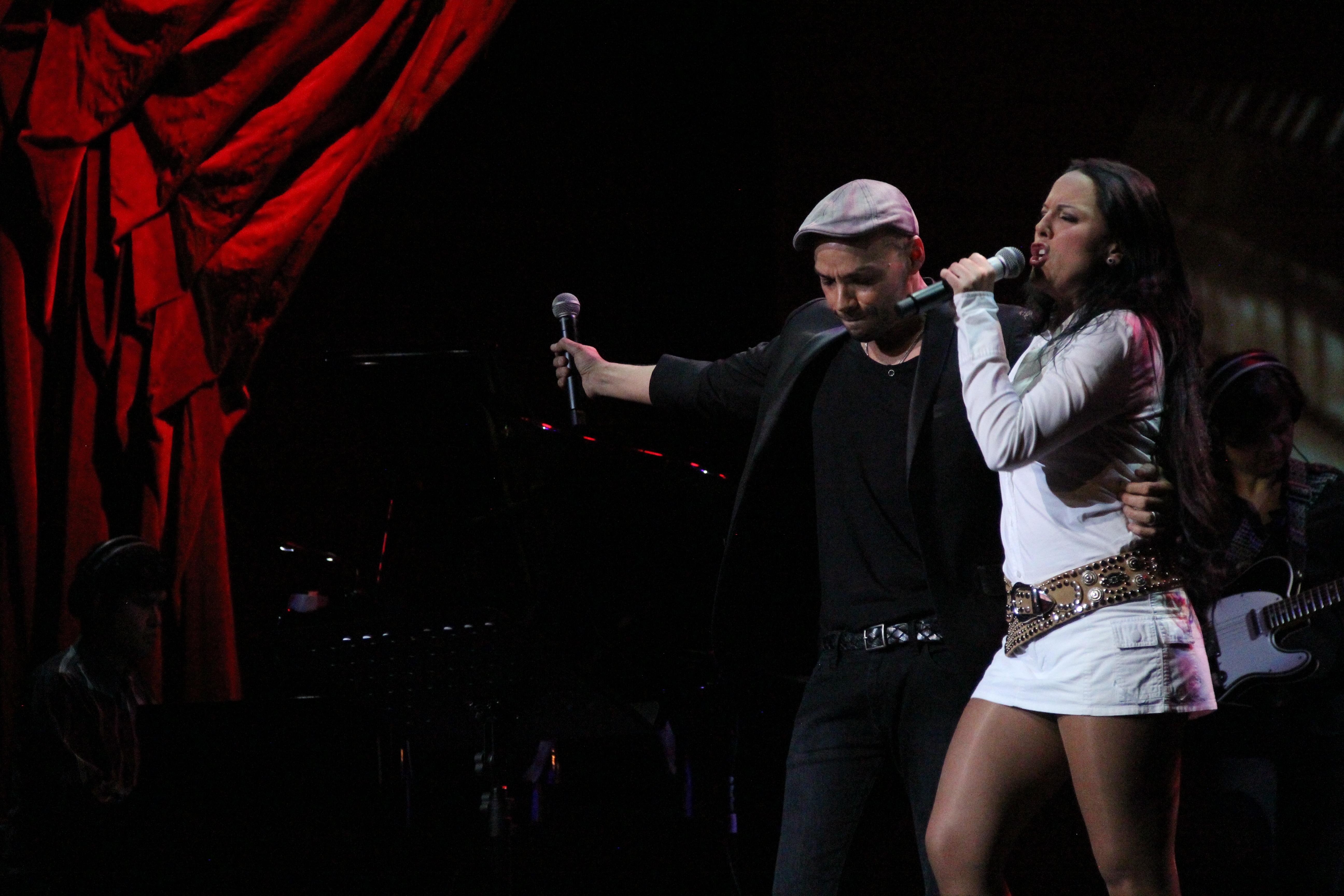 Silvia Villaú y Paco Arrojo